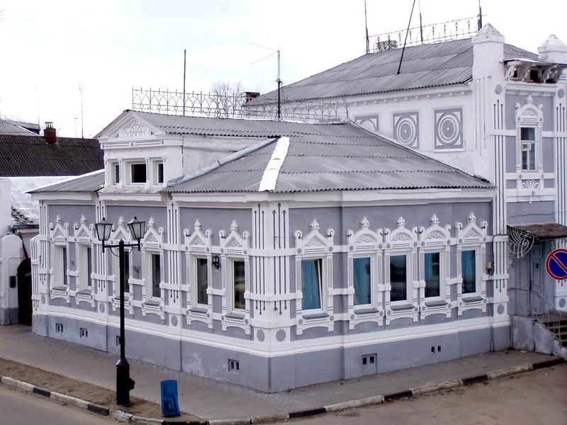 здание музея городецкого пряника