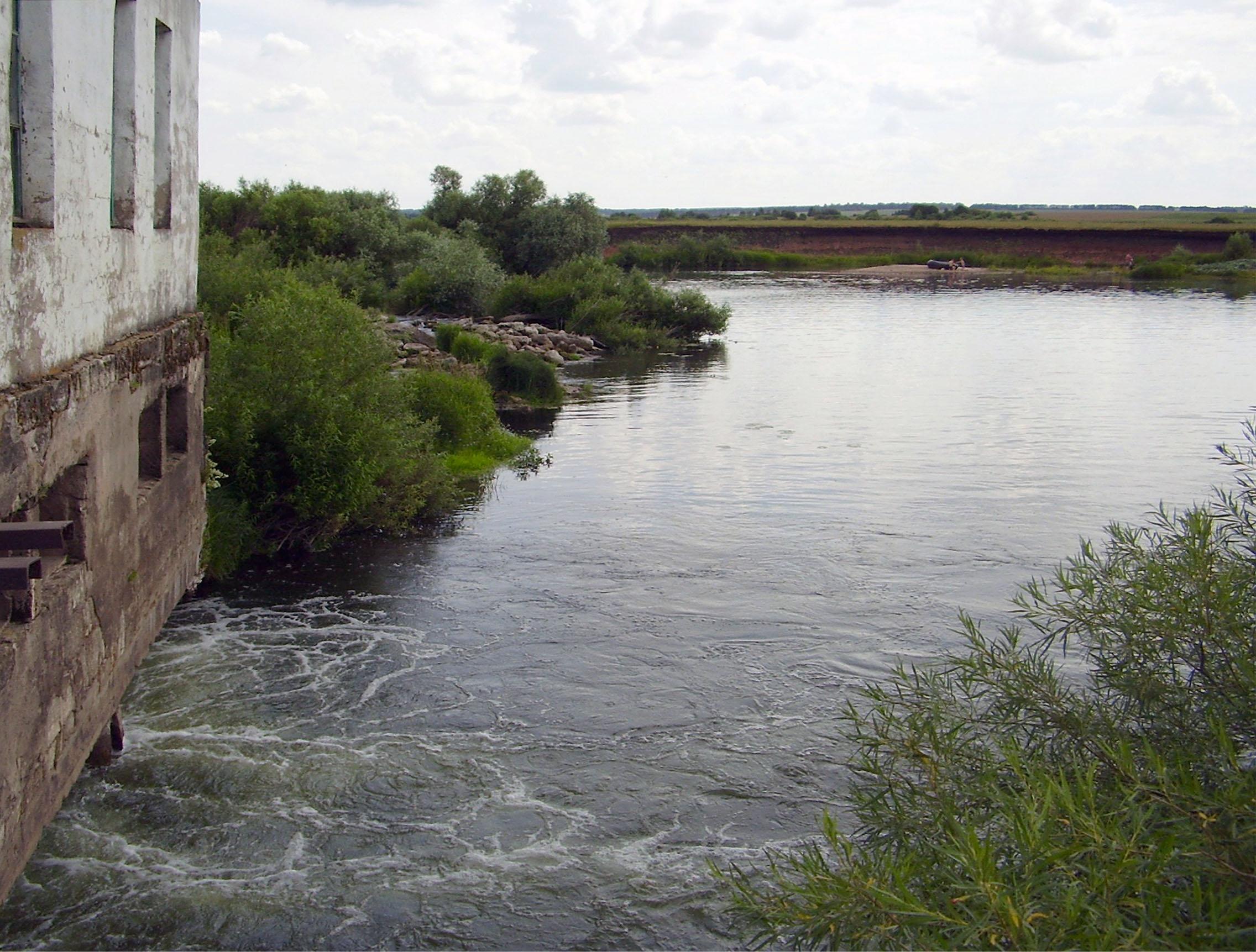 Пьяна выше Ичалковской ГЭС.