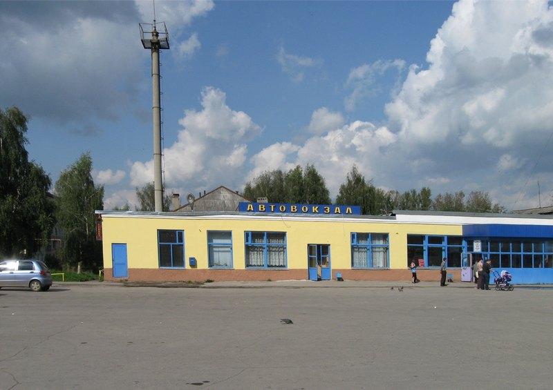 Автовокзал города Лысково.