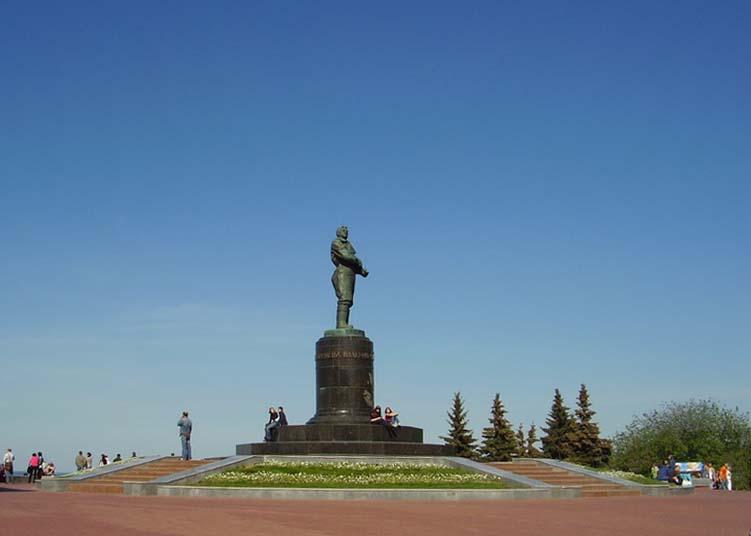 Памятник В.П.Чкалову. (Нижний Новгород)