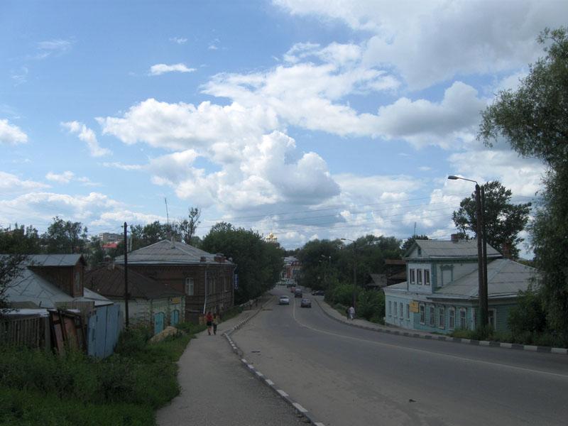старые улицы павлово
