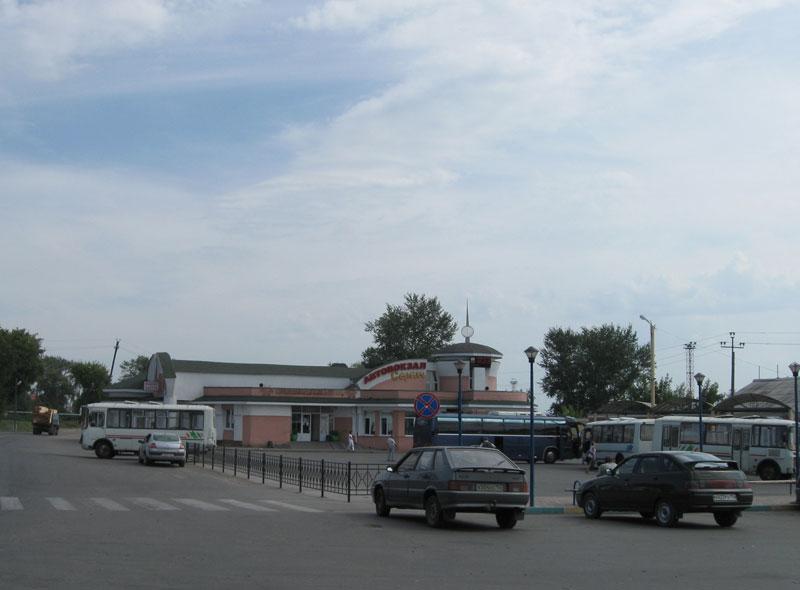 сергач, автовокзал